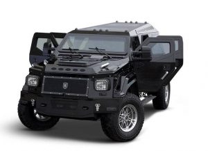 armoured trucks